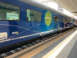 Connecting Europe Express, il treno europeo fa tappa a Roma