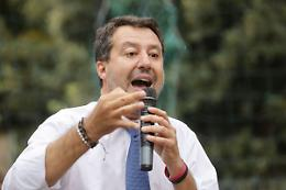 """Governo, Salvini """"Subito la rottamazione delle cartelle"""""""