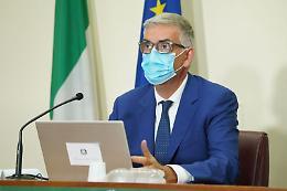 """Covid, Brusaferro """"Curva cala, in Italia circolazione piu' contenuta"""""""