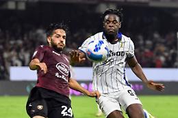 Salernitana-Atalanta 0-1, decide un gol di Zapata