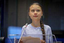 """Greta """"Vogliamo giustizia climatica, i leader non ci ascoltano"""""""