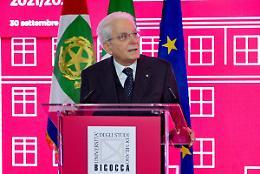 """Mattarella """"Questo è il momento di modernizzare il Paese"""""""