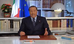 """Berlusconi """"Se si indebolisce centro liberale sinistra torna al potere"""""""