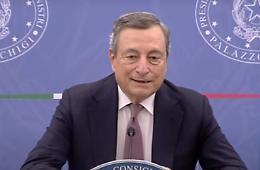 """Covid, Draghi """"I vaccini sono sicuri e salvano vite"""""""