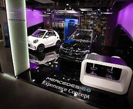 A Roma il primo Mercedes-EQ Experience Concept