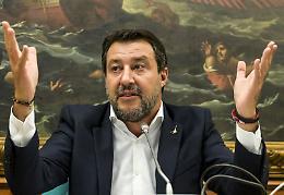 """Salvini """"Spero di non vedere più assalti a sedi sindacali"""""""