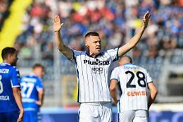 Atalanta 4-1 a Empoli, pari Genoa-Sassuolo e Udinese-Bologna