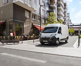 Citroën ë-Jumper elettrico e' ora ordinabile in Italia