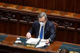 """Draghi """"In Italia vaccinazione più spedita che nel resto d'Europa"""""""