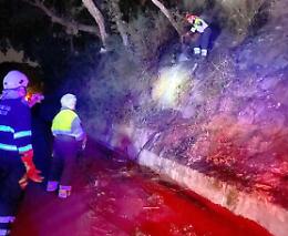 Incendi in Calabria, volontari cremaschi nell'inferno di fuoco