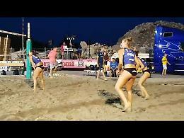 VIDEO L'incontro di beach volley Pomì-Scandicci a Casalmaggiore