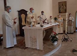 Il vescovo Gianotti celebra la messa per il mondo del lavoro