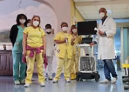 Dalla Giorgio Conti ecografo e bisturi a risonanza molecolare all'Ospedale