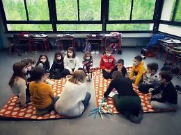 Il FATF in presenza con gli alunni di Ombriano