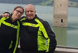Le vittime: Danilo e Chiara, padre e figlia inseparabili tra moto e montagna