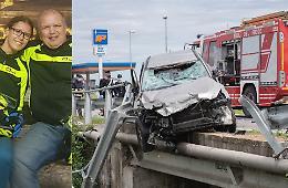 Schianto auto-moto, morti padre e figlia di 55 e 26 anni