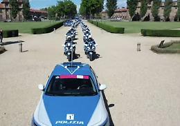 Ciclismo, la Polizia stradale al seguito del Giro d'Italia