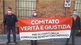 Strage nelle Rsa,  sit-in davanti al Tribunale