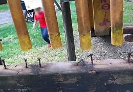 Giochi pericolosi al Parco Bonaldi: gli interventi sono urgenti