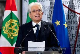 Mattarella: solidarietà ha consentito a Brescia di resistere