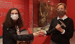 Cinzia Galli passa il testimone del museo
