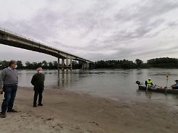 Ponte Giuseppe Verdi, rilievi sonici per rilevare i fondali