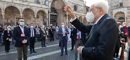 La carezza del Presidente al cuore di Cremona ferita
