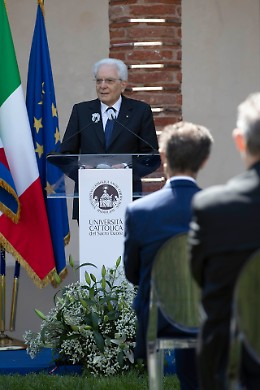 """Il Presidente a Santa Monica: """"Un saluto particolare agli studenti"""""""