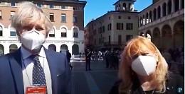 """Il Capo dello Stato a Cremona, Balotta e Pan: """"Un segnale importante"""""""