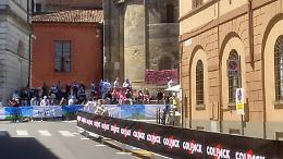 Il passaggio della Corsa Rosa da Cremona