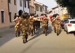 Festa della Repubblica sulle note della fanfara Triboldi