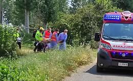 Incidente al crossodromo, un 40enne in gravi condizioni
