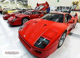 La clinica delle Ferrari a Maranello Service: il restauro è un'arte