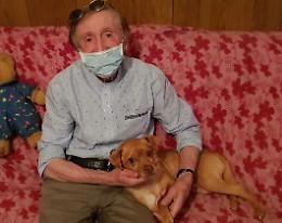 La padrona muore, il sindaco Garoli adotta il cane Willy