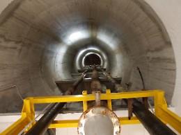 Acquedotto, lavori in corso per una perdita in una tubatura
