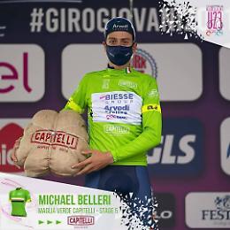 Biesse Arvedi Premac, Michael Belleri in maglia verde