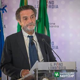Covid, Fontana: «L'80% dei lombardi è vaccinato»
