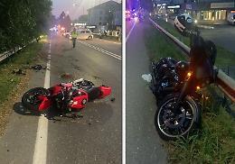 Due moto si scontrano, centauro in prognosi riservata