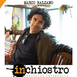 Inchiostro - Festival letterario Incontro con Marco Balzano