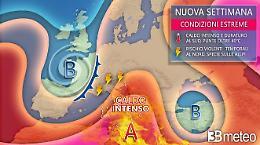 Italia sotto la cappa africana: rischio forti temporali