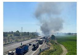 Incidente sulla A1 a Piacenza: morti due camionisti