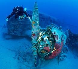 Gli archeologi di Soncino a caccia di aerei nel Mar Egeo