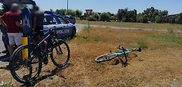 Incidente al rondò di Ca' delle Mosche, ciclista ferita