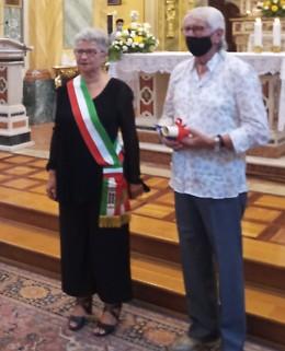 Il Benedettino d'oro al volontario Baldocchi