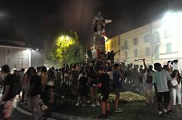 Crema in festa per la notte dell'Italia