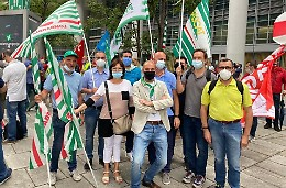 Sanità in Lombardia: la riforma che vogliamo. Presidio in Regione
