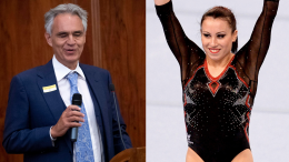 """La dedica di Bocelli a Vanessa: """"Con te partirò... per Tokyo"""""""