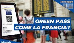 In Italia utilizzo del Green pass come la Francia?  Cosa ne pensi?