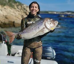 Alice Ferrari convocata per i campionati mondiali di pesca in apnea
