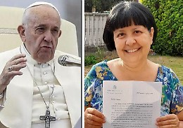 «Vicino al mio dolore, ho scritto al Papa e mi ha risposto»